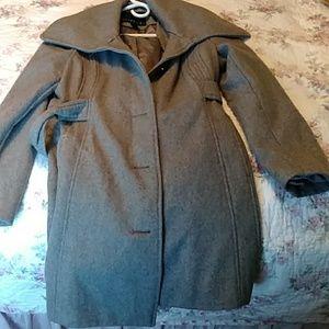 Wool pea coat.